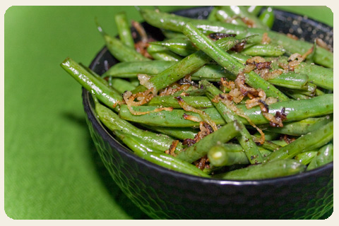 how to cook fresh green beans saute