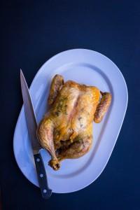 simplest roast chicken