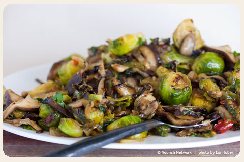 Wok-Tossed Brussels Sprouts with Sweet Chile Sauce ...