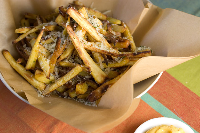 Garlic Parsnip Fries