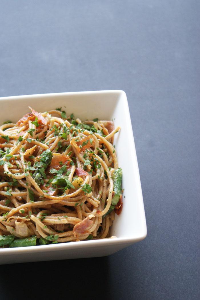 pasta-asparagus-prosciutto-recipe