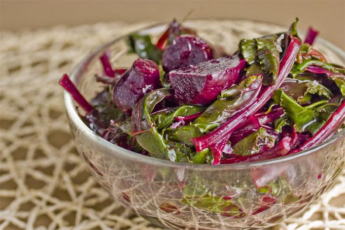 beet-green-salad