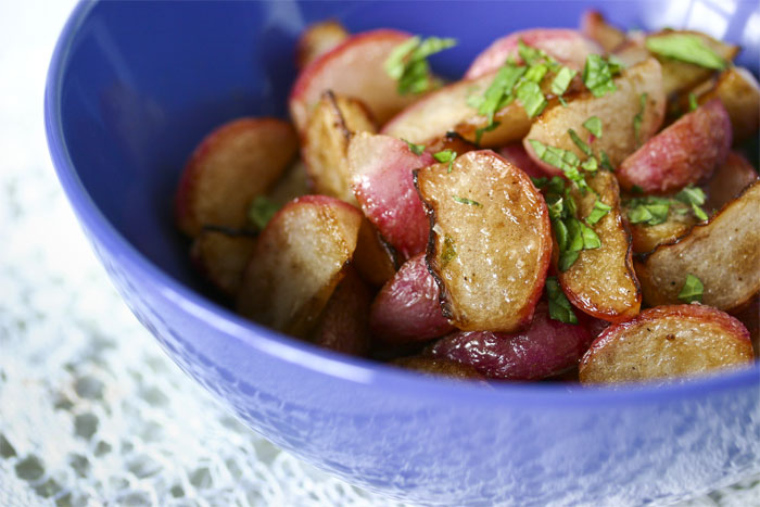 sauteed-radishes