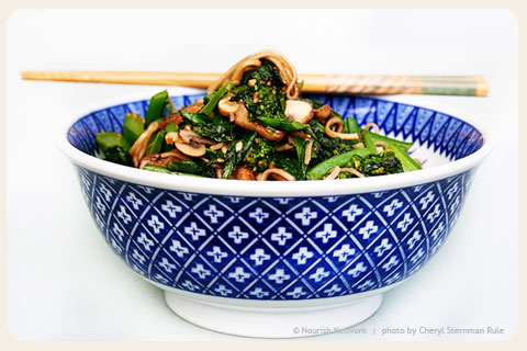 stir-fried-greens-recipe