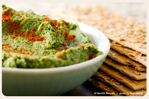 spinach-and-chickpea-dip