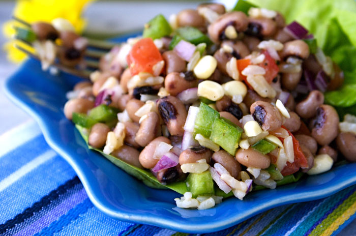 Mississippi Caviar with Black-Eyed Peas & Cider Vinaigrette