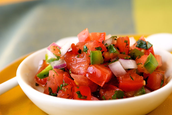 End-of-Summer Pico de Gallo