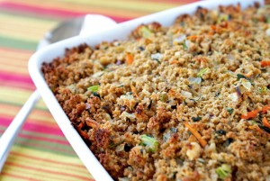 breadcrumb-stuffing-thanksgiving-side-dishes