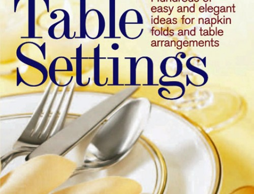 "Win a Free Copy of ""Perfect Table Settings""!"