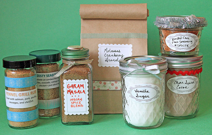 Give the Gift of Flavor with 6 Homemade Spice Blends