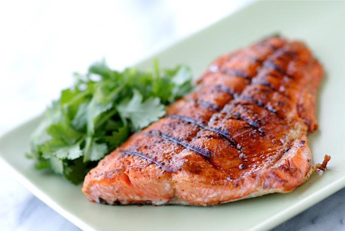 Grilled Wild Salmon With Smoked Paprika Nourish Evolution