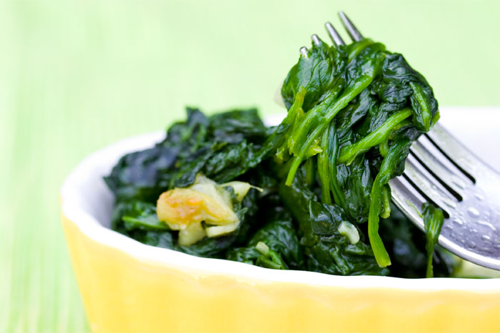 garlicky-spinach