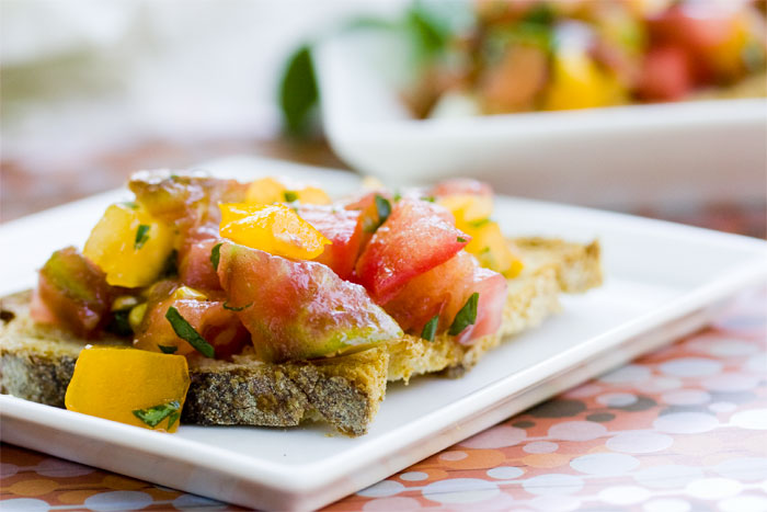 Beautifully Basic Bruschetta