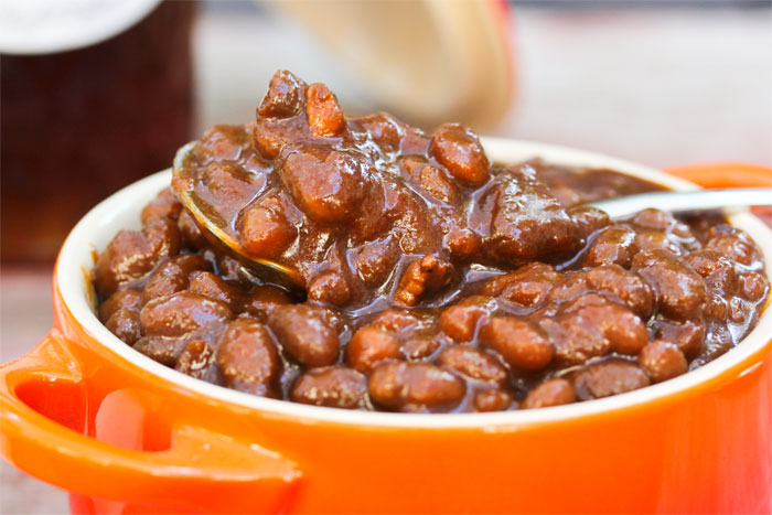 slow-cooker-molasses-honey-baked-beans