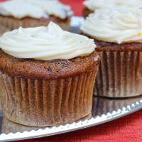 Christopher's Carrot Cake Cupcakes