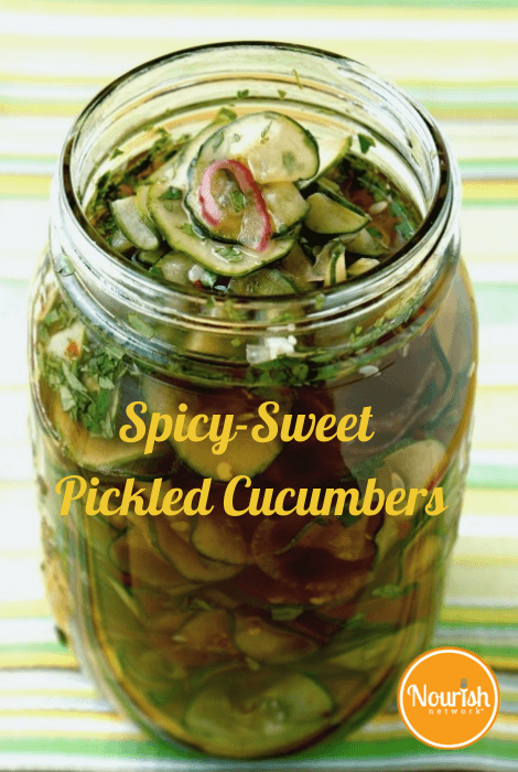 spicy-sweet-pickled-cucumbers-recipe