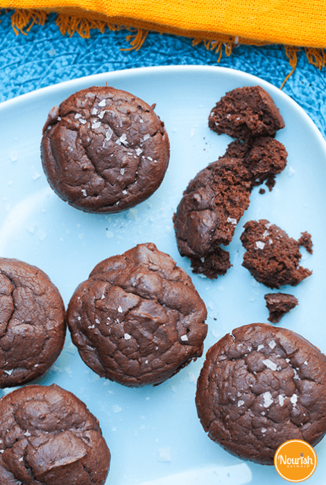 Fudgy Black Bean Brownies with Sea Salt