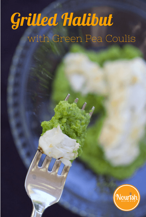grilled-halibut-green-pea-coulis-recipe