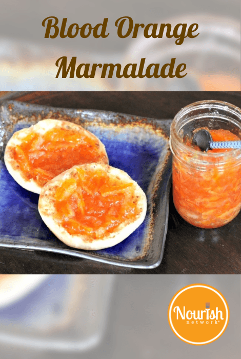 Rustic Blood Orange Marmalade - NOURISH Evolution