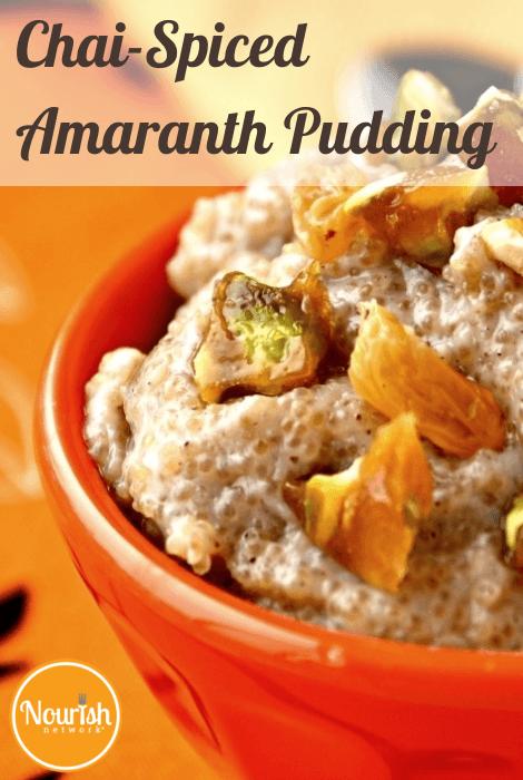 Chai-Spiced Amaranth Pudding