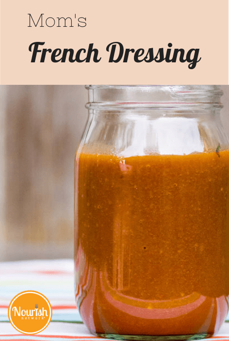 Mom's French Dressing Salad Recipe
