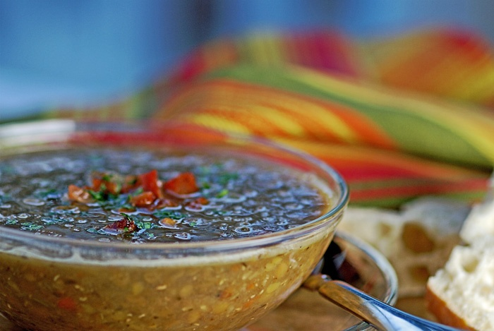 lentil-soup-with-bacon-and-juniper-berries