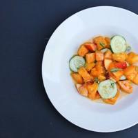 Thai Tomato Nectarine Salad