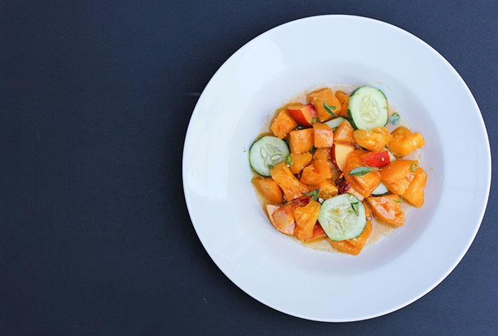 thai-tomato-nectarine-salad