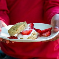 Whole Grain Strawberry Shortcakes