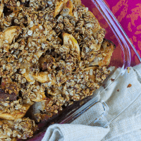 A Better Apple Brown Betty