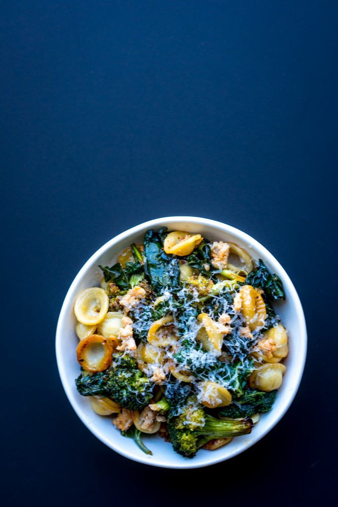orecchiete broccoli kale sausage