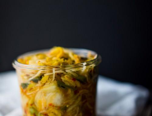 Basic DIY Kimchi