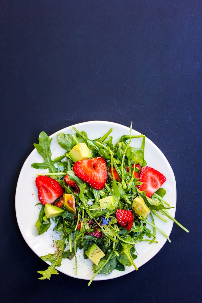 strawberry-arugula-salad