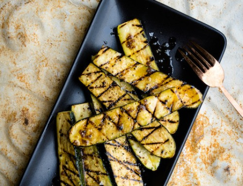 Meaty Grilled Zucchini