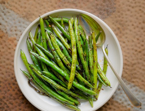 Irresistible Wok-Seared Green Beans