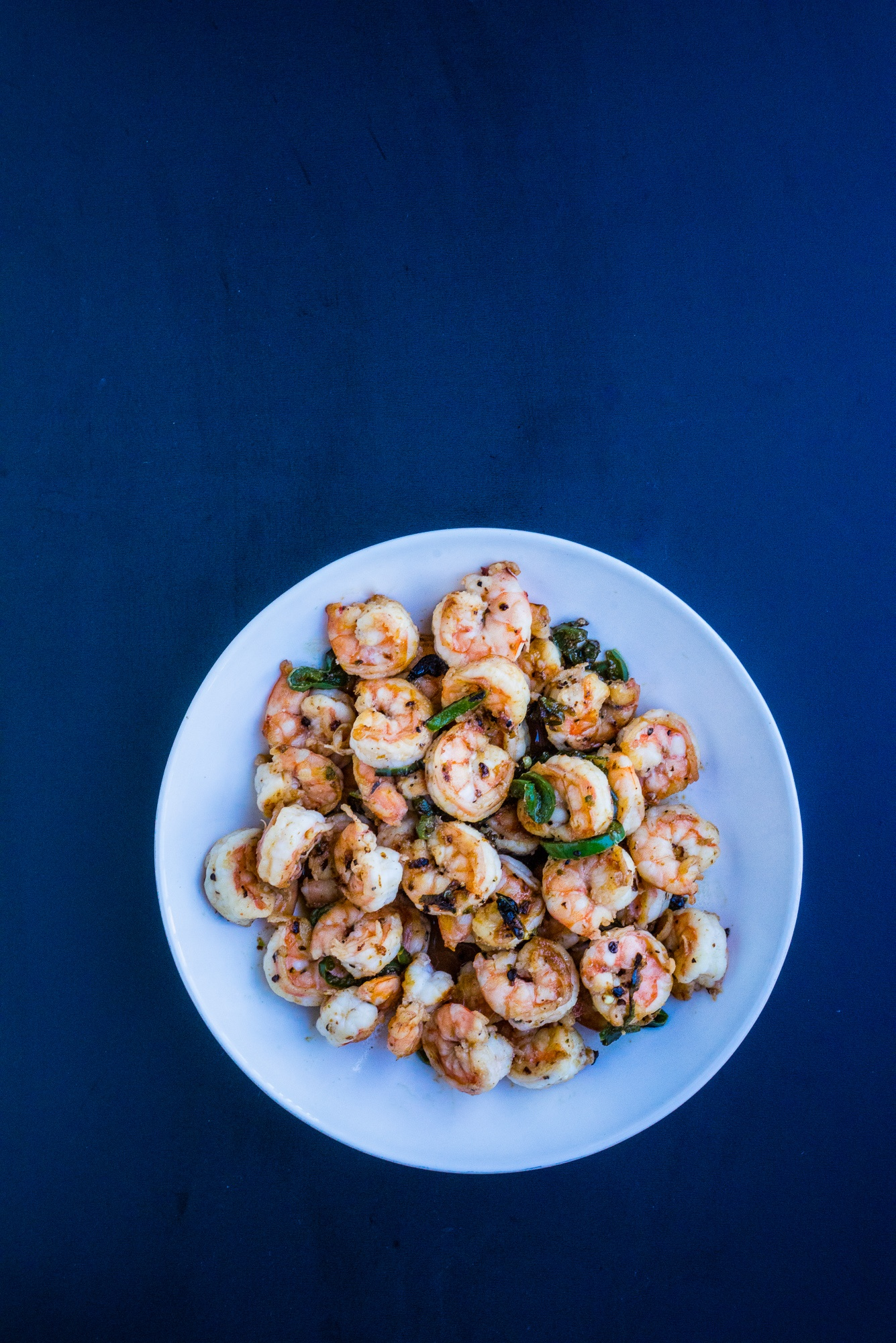 Spicy Sweet Shrimp Stir-Fry