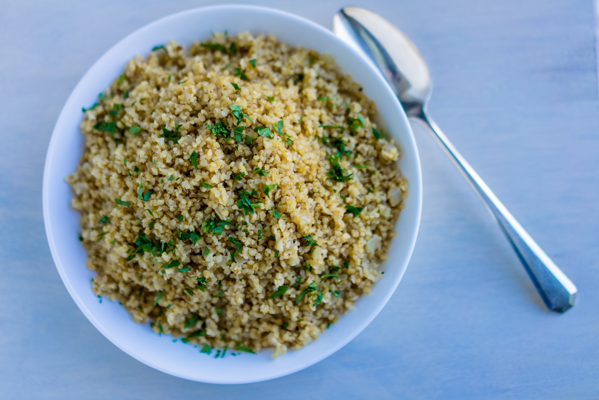 Herb-Flecked Bulgur Wheat