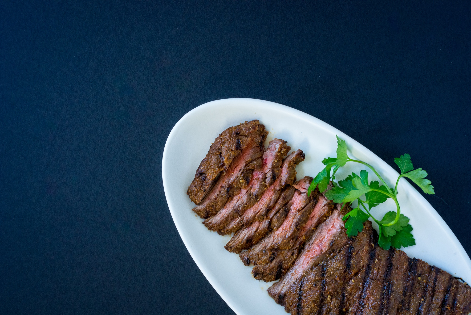 Spiced-Rubbed Skirt Steak