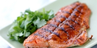 Grilled Wild Salmon with Smoked Paprika
